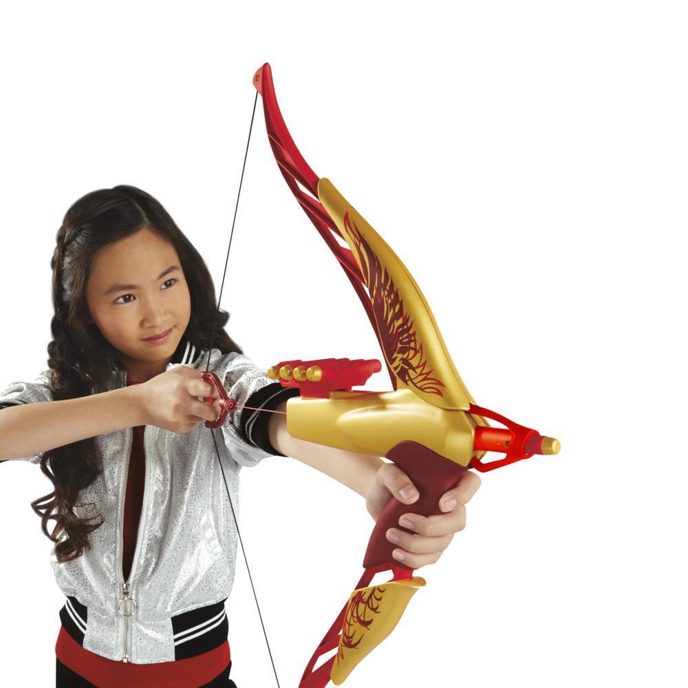Disney Mulan Warrior-bue med 8 skumpile, inspireret af Disneys Mulan live-actionfilm, legetøj til børn fra 8 år