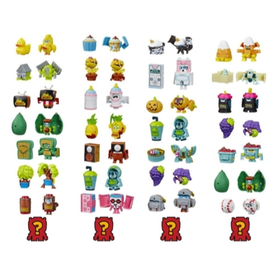 Transformers BotBots Series 3 Fresh Squeezes 8-Pack Mystery 2-In-1 Collectible Figures Product