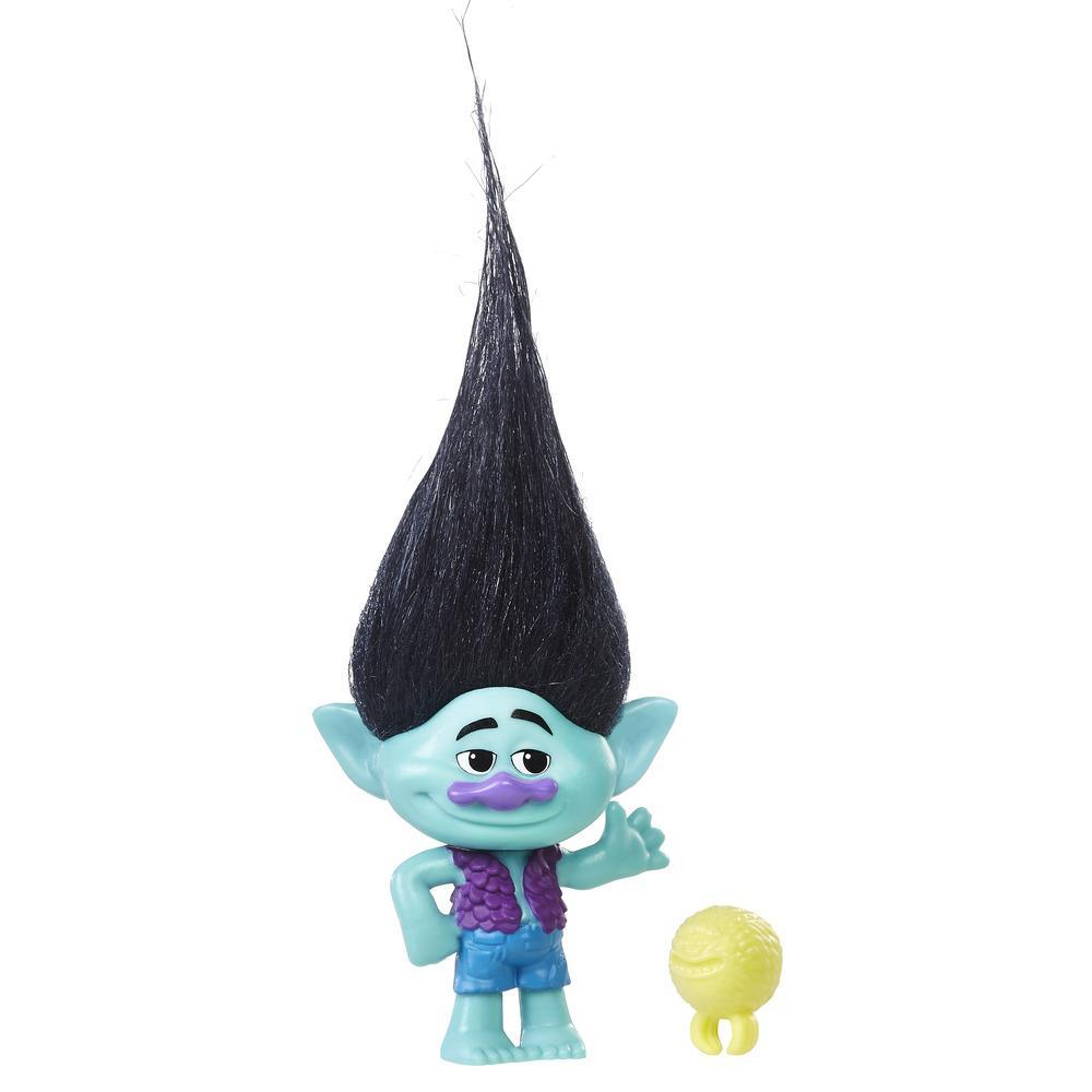 DreamWorks Trolls Branch Collectible Figure with Critter