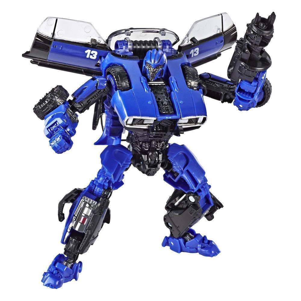 Transformers Toys Studio Series 46 Deluxe Class Transformers: Bumblebee Movie Dropkick Action Figure