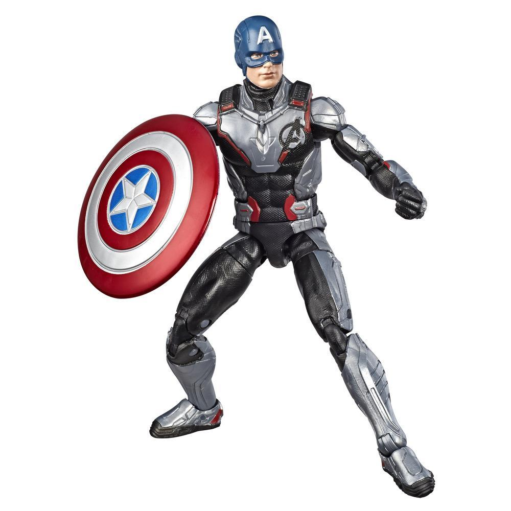 Hasbro Marvel Legends Series 6-inch Collectible Action Figure Captain America Toy, Great For Fans Ages 4 And Up