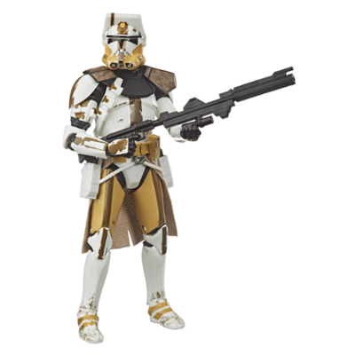 Klonkommandør Bly-legetøj fra Star Wars The Black Series, Star Wars: The Clone Wars-actionsamlerfigur på 15 cm