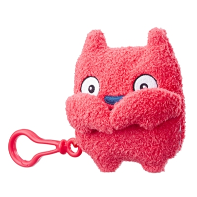 UglyDolls Lucky Bat To-Go Stuffed Plush Toy, 12,5 cm. tall