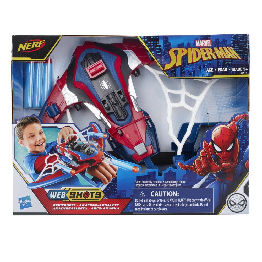 Spider-Man Web Shots Spiderbolt NERF Powered Blaster-legetøj