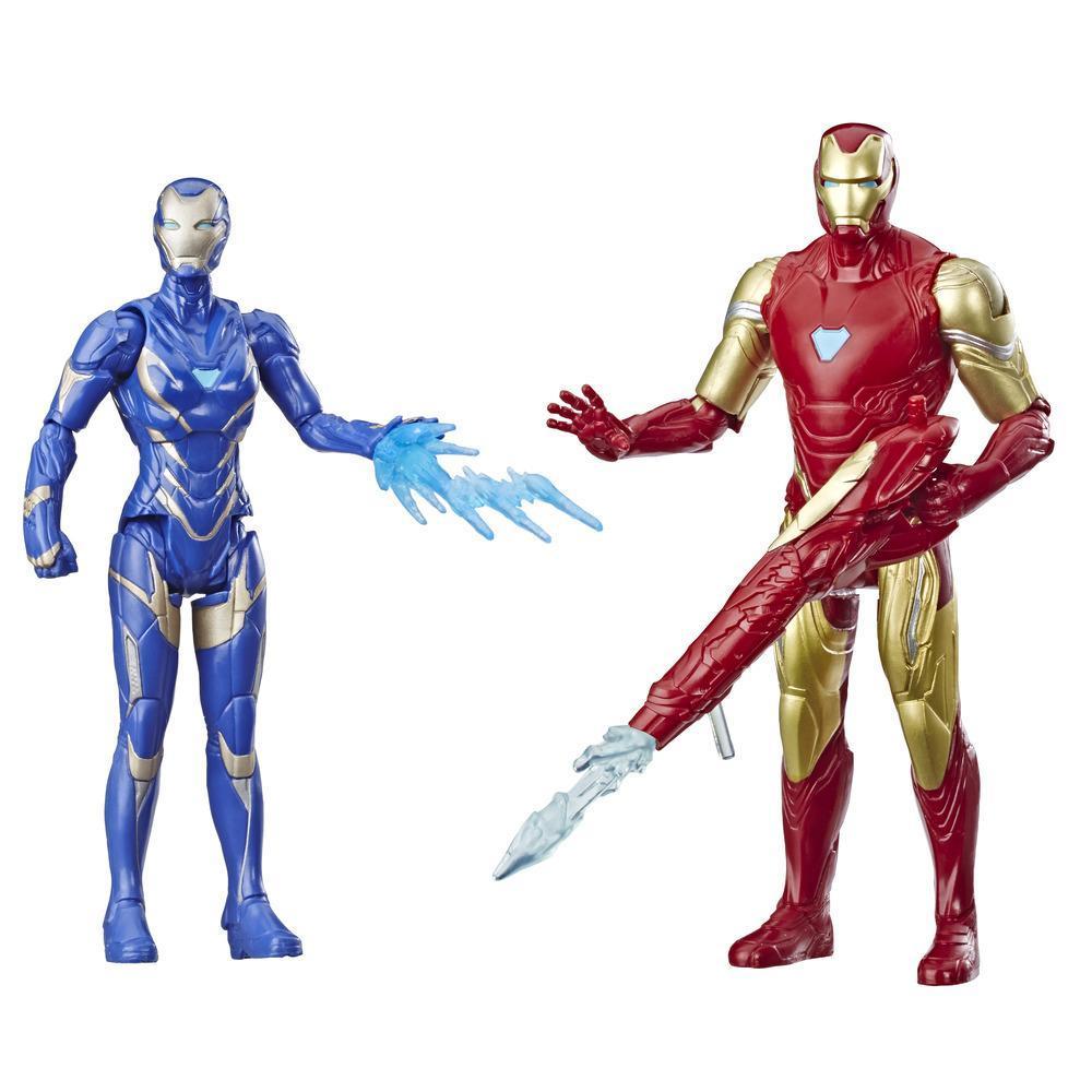 Marvel Avengers: Endgame Iron Man and Marvel's Rescue Figure 2-Pack