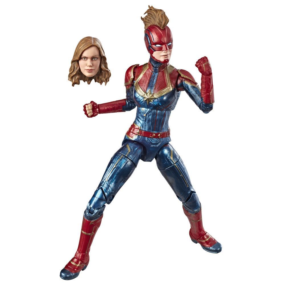 Hasbro Marvel Legends Series 6-inch Collectible Action Figure Captain Marvel Toy, Great For Fans Ages 4 And Up