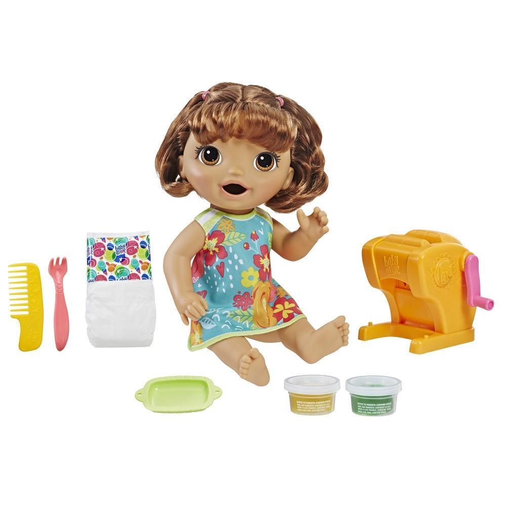 Baby Alive Snackin' Shapes: Baby Doll (Brown Hair)