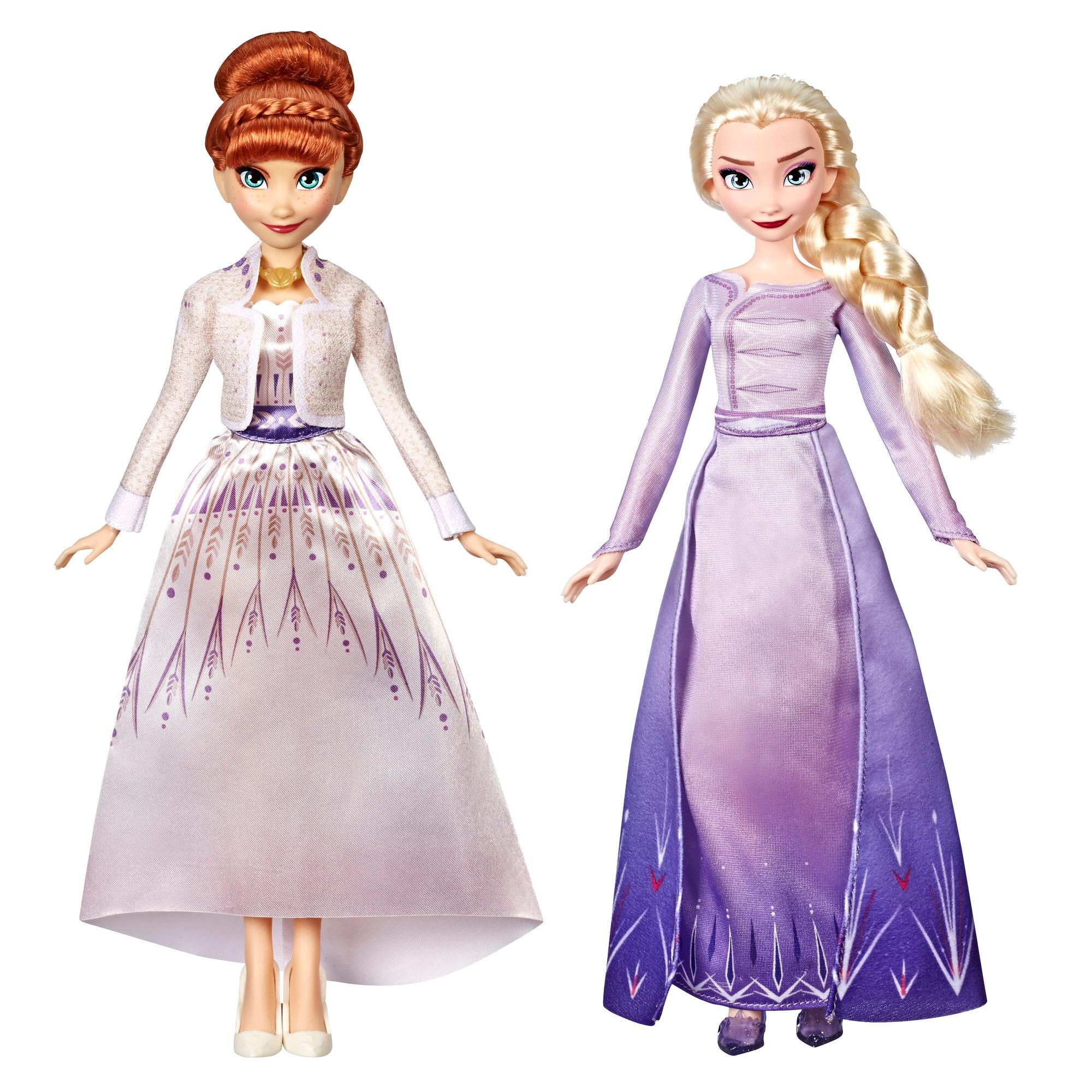Disney Frozen Anna and Elsa Fashion Doll Set, With Removable Fashions, Inspired by the Movie Disney's Frozen 2