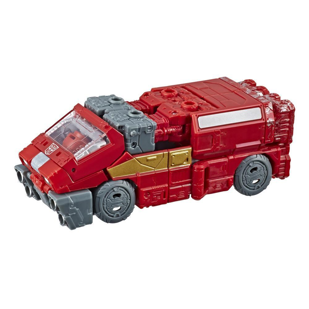 Transformers Toys Generations War for Cybertron Deluxe WFC-S21 Ironhide Action Figure - Siege Chapter - Adults and Kids Ages 8 and Up, 5.5-inch