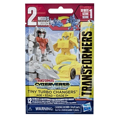 Transformers Toys Cyberverse Tiny Turbo Changers Series 2 Blind Bag Action Figures Product