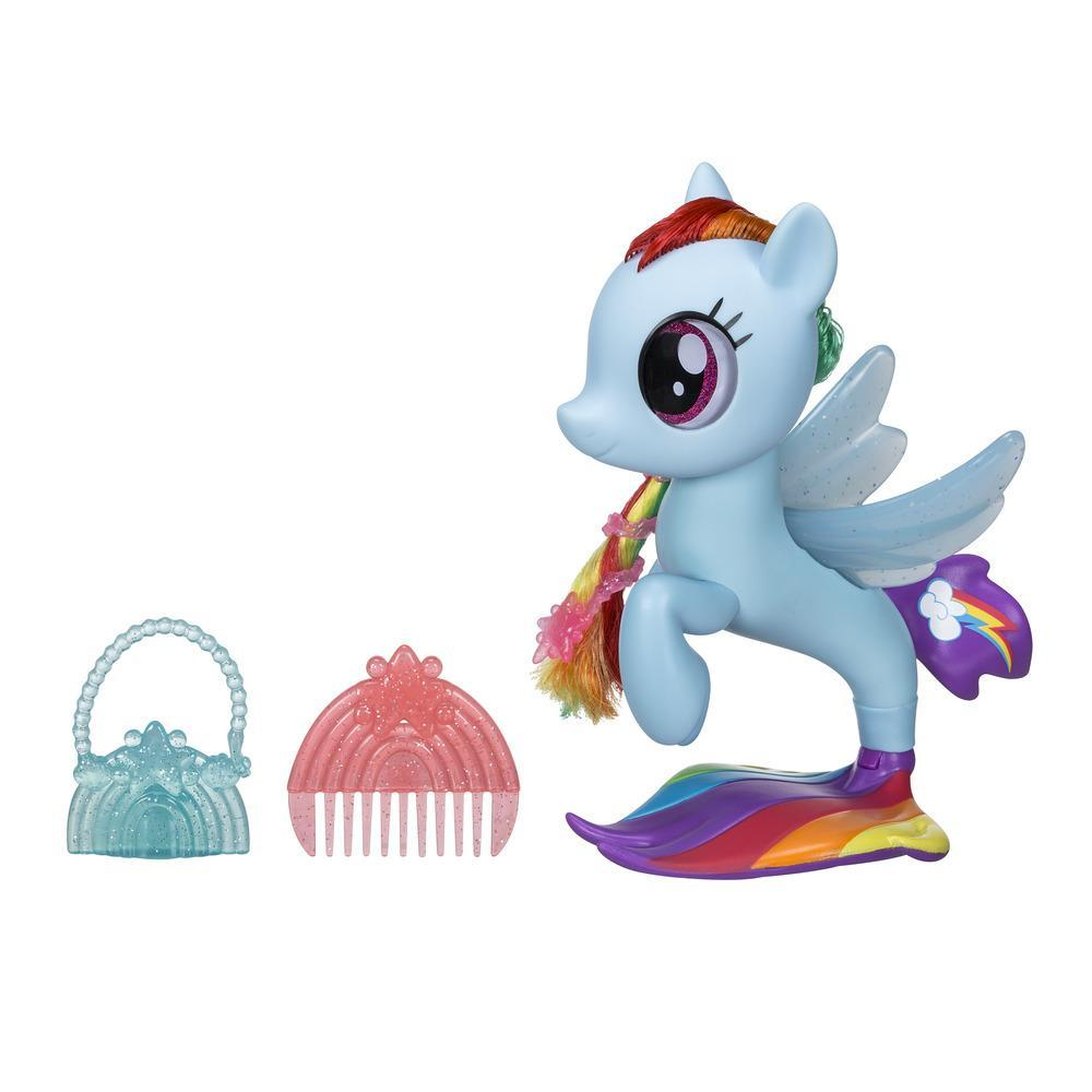My Little Pony: The Movie Glitter & Style Seapony Rainbow Dash