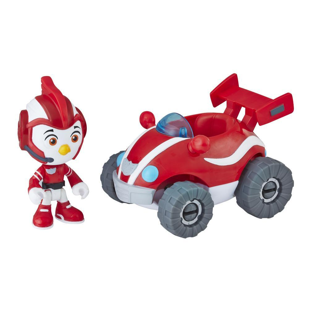 Top Wing Rod figure and vehicle