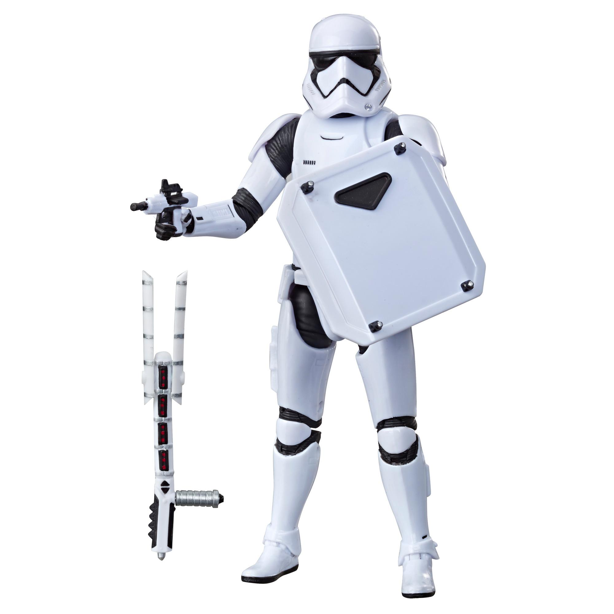 Star Wars The Black Series First Order Stormtrooper Toy 6-inch Scale Collectible Action Figure, Kids Ages 4 and Up