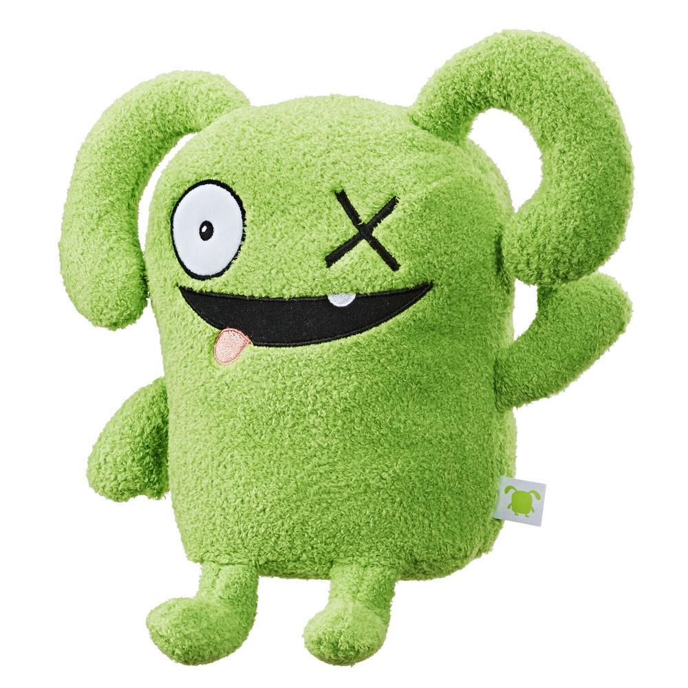 UglyDolls Feature Sounds OX, Stuffed Plush Toy that Talks, 11 inches tall