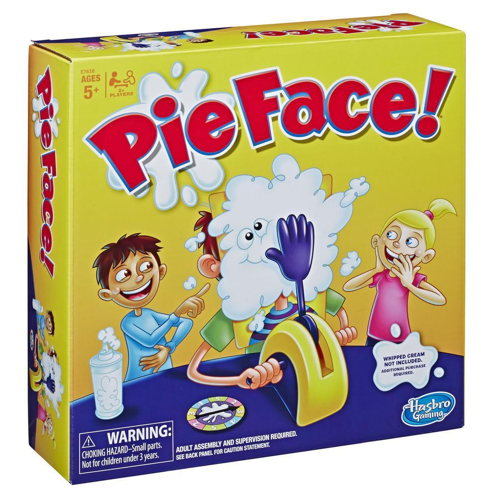 Pie Face Game Whipped Cream Family Game