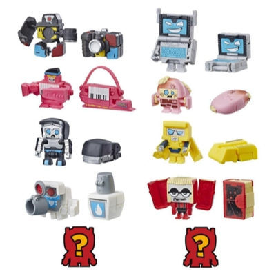 Transformers BotBots Toys Series 2 Backpack Bunch 5-Pack – Mystery 2-In-1 Collectible Figures! Kids Ages 5 and Up (Styles and Colors May Vary) by Hasbro Product