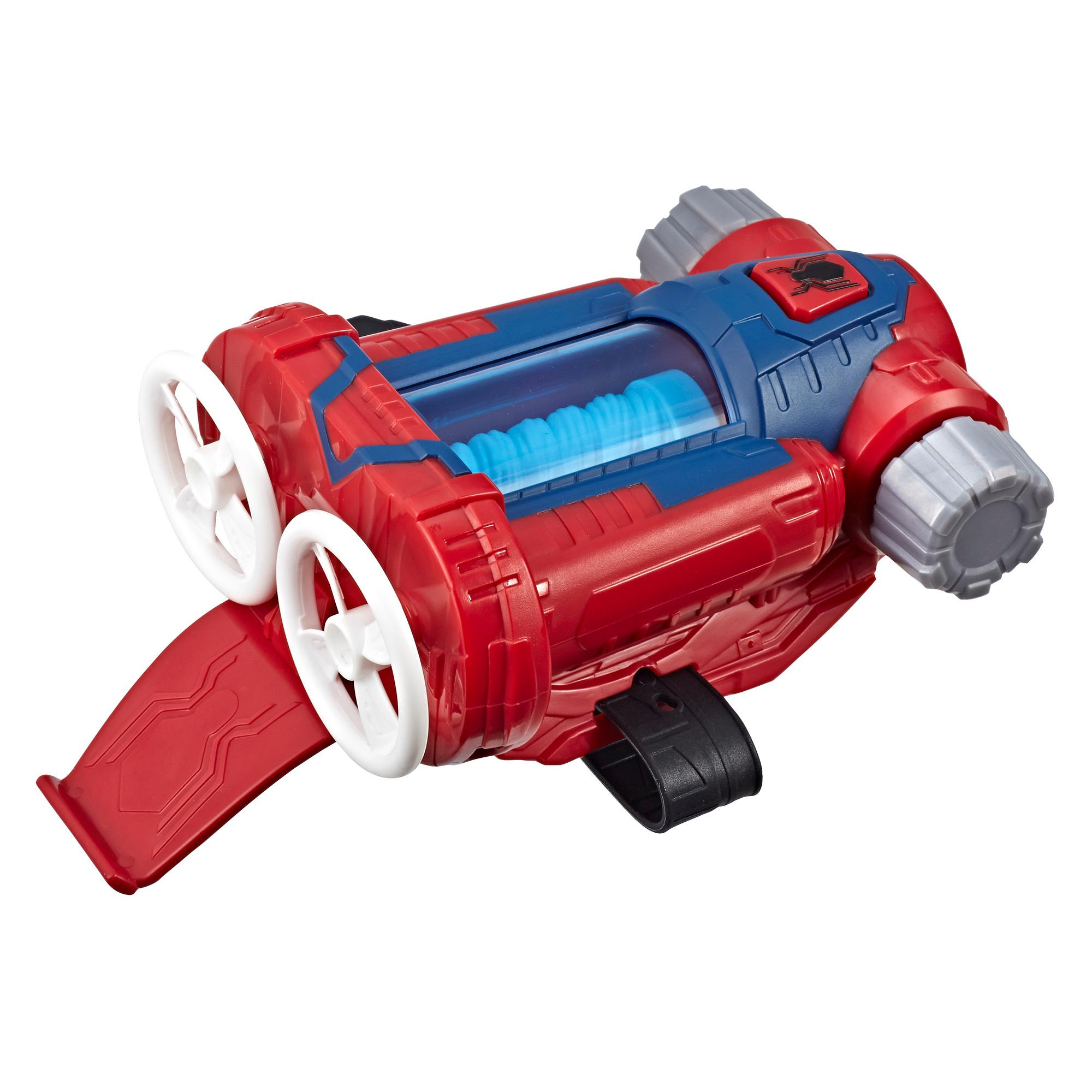 Spider-Man Web Shots Twist Strike Blaster Toy for Kids Ages 5 and Up