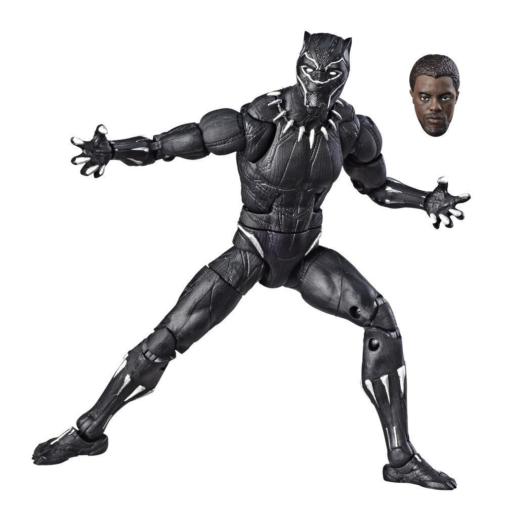 Hasbro Marvel Legends Series 6-inch Collectible Action Figure Black Panther Toy, High Quality, Great For Fans Ages 4 and Up