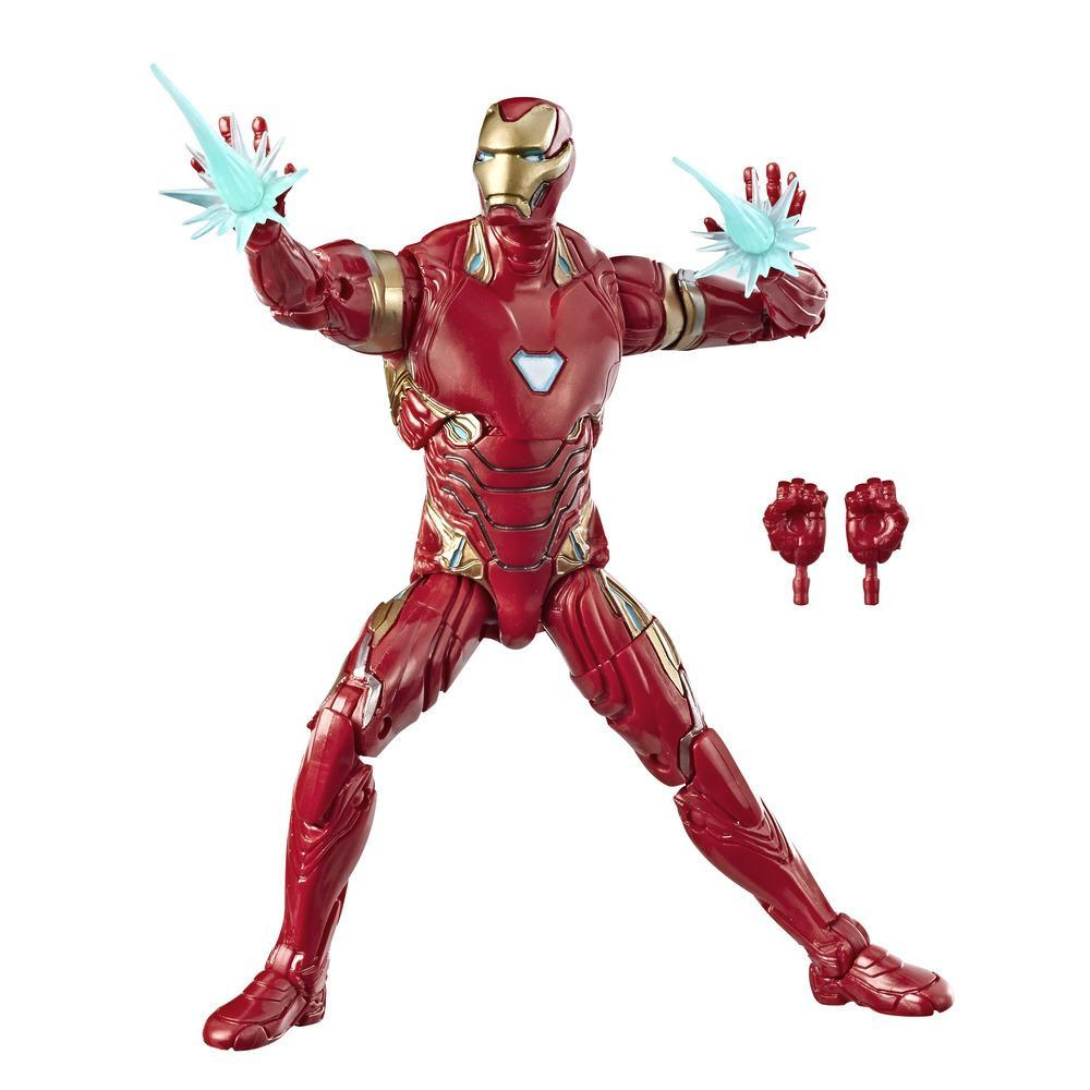 Hasbro Marvel Legends Series 6-inch Collectible Action Figure Iron Man Toy, High Quality, Great For Fans Ages 4 And Up