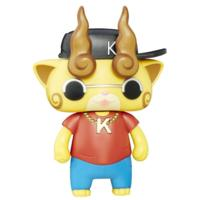 Yo-kai Watch Hip Hop Hero Komajiro Electronic Figure