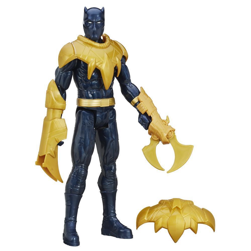 Avengers Titan Hero Battle Figur - Black Panther