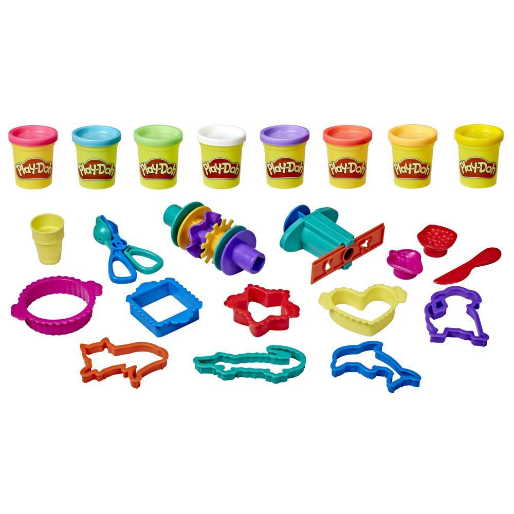 Play-Doh Großes Knetset mit Aufbewahrungsbox
