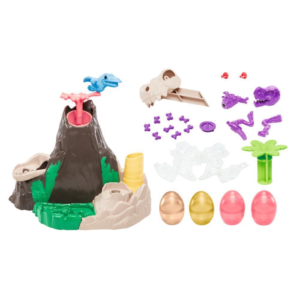 Play-Doh Dino Crew Die Dino-Insel mit HydroGlitz Masse