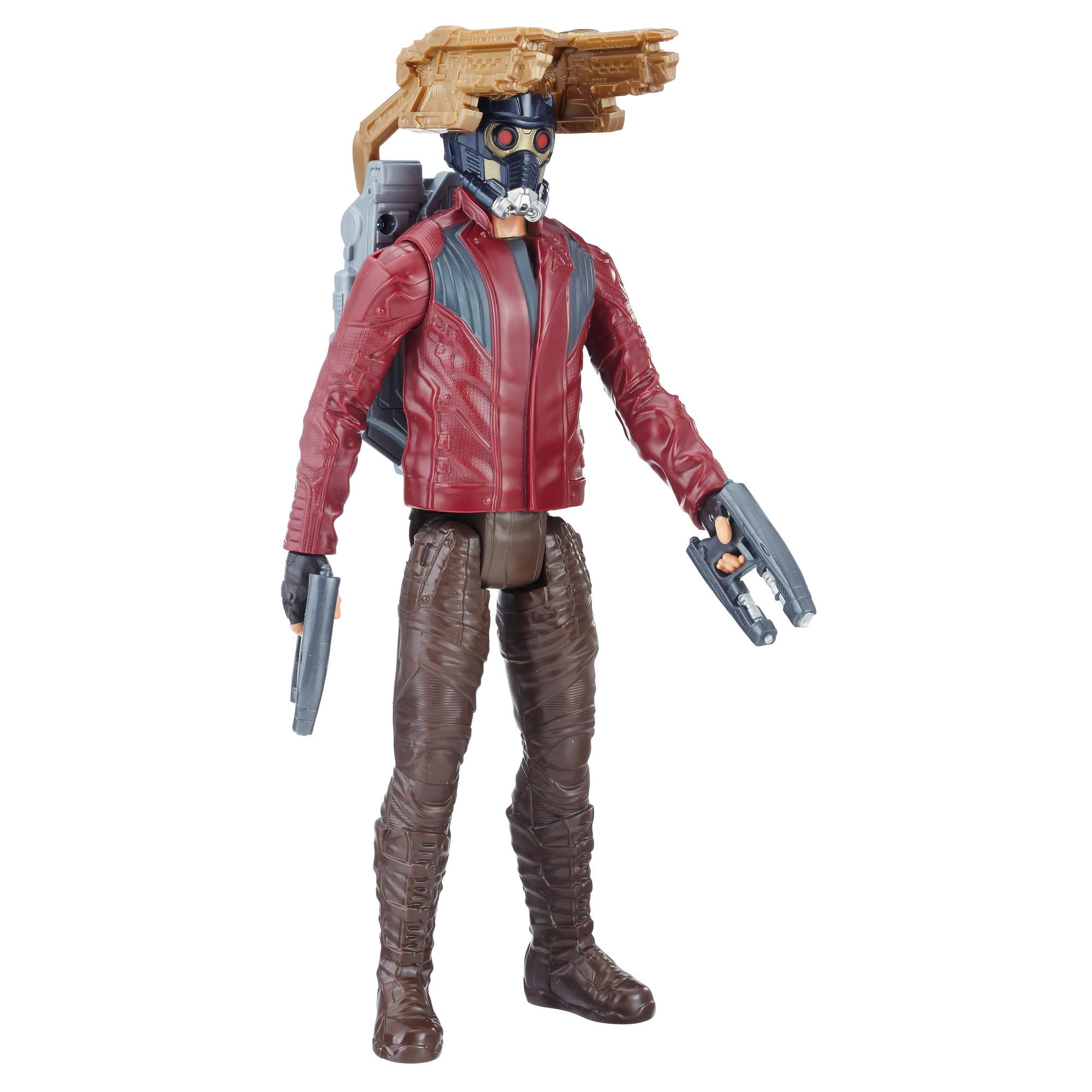 Avengers Titan Hero Power FX Star-Lord mit Power FX Pack
