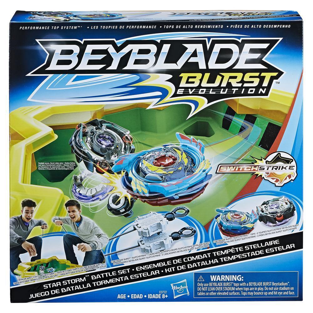 Beyblade Burst Switch Strike Battle Set