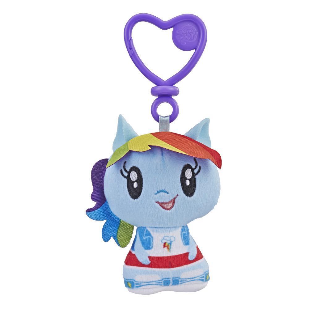My Little Pony Cutie Mark Crew Rainbow Dash Equestria Girls Plush Clip