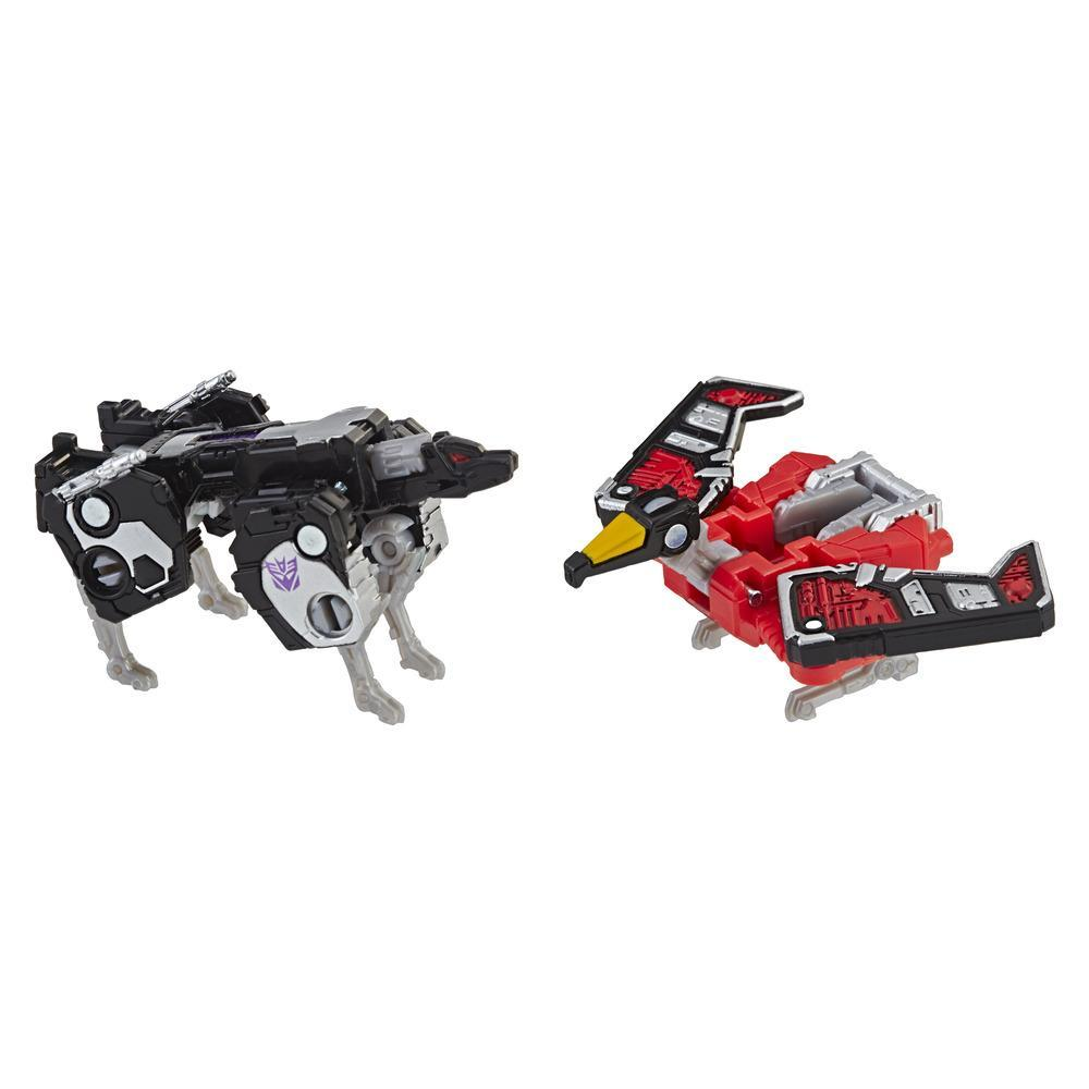 Transformers Toys Generations War for Cybertron: Siege Micromaster WFC-S18 Soundwave Spy Patrol 2-pack Action Figure - Adults and Kids Ages 8 and Up, 1.5-inch