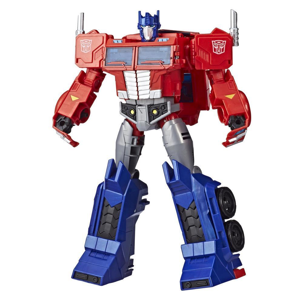 Transformers Cyberverse Action Attacker Ultimate Figur Optimus Prime