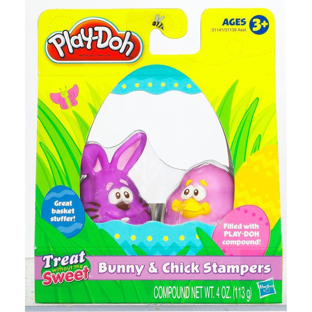 Play-Doh Knetstempel Hase und Küken (Lila)