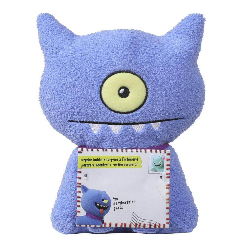 Sincerely UglyDolls Party On Ugly Dog Stuffed Plush Toy, Inspired by the UglyDolls Movie, 8 inches tall
