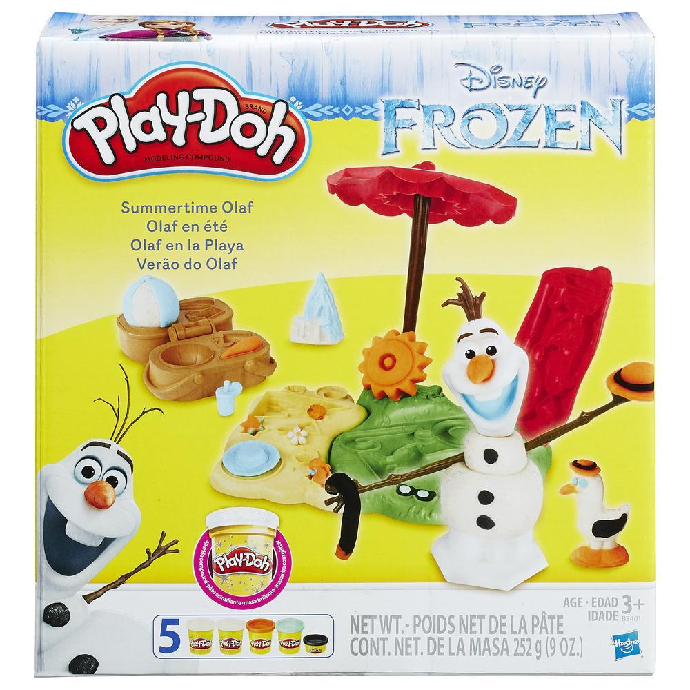Play-Doh Frozen Olaf macht Urlaub
