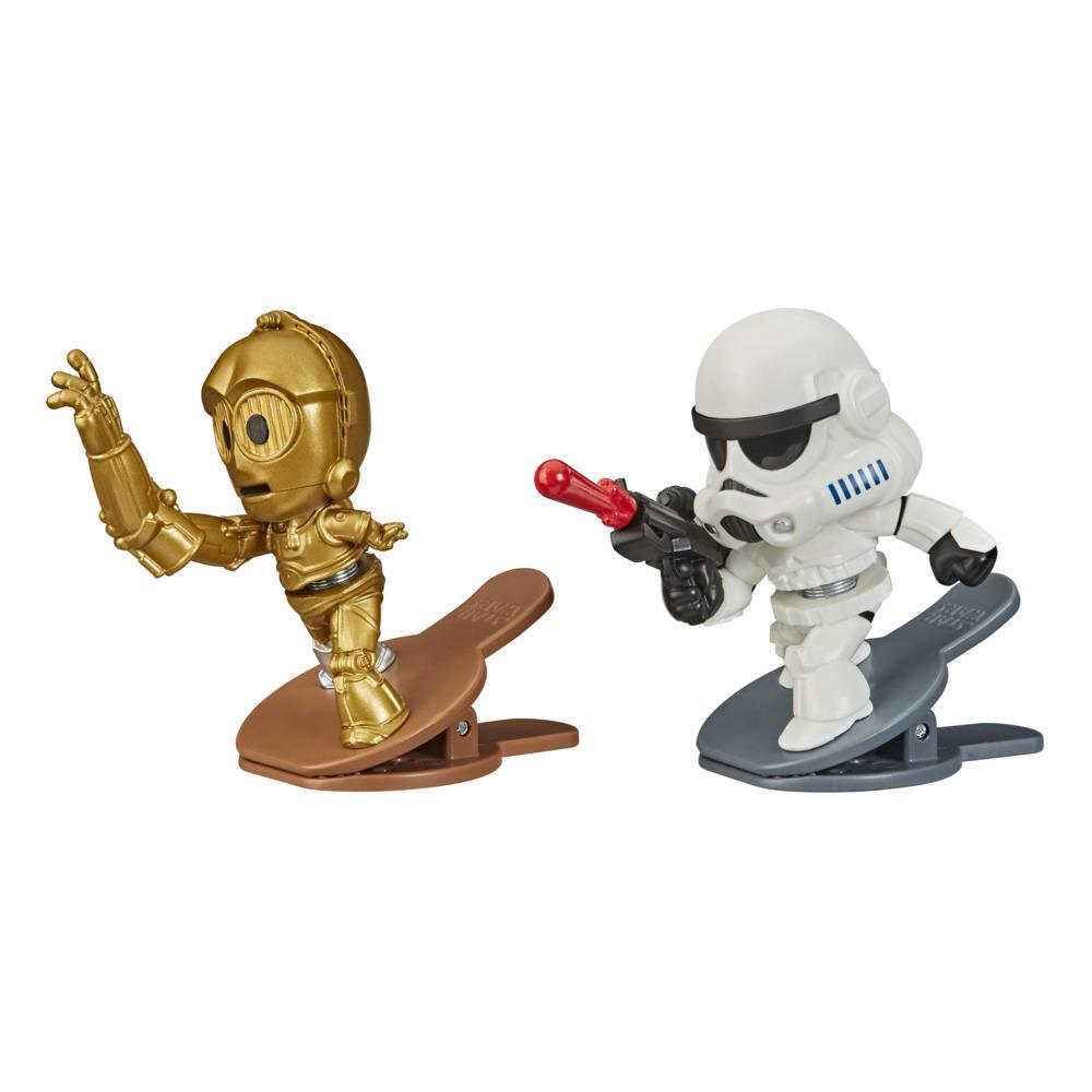 Star Wars Battle Bobblers C-3PO Vs Stormtrooper Figuren 2er-Pack