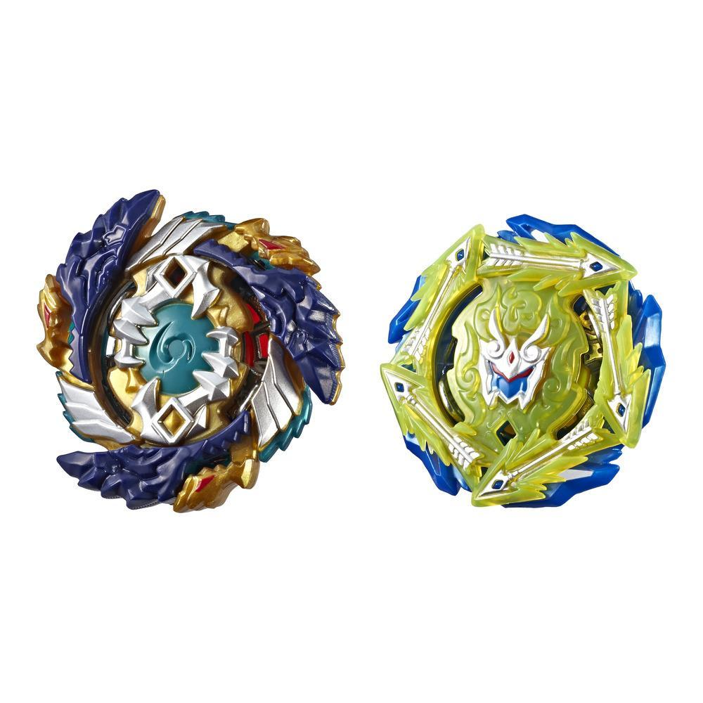 Beyblade Burst Turbo Slingshock Dual Pack Fafnir F4 and Rudr R4