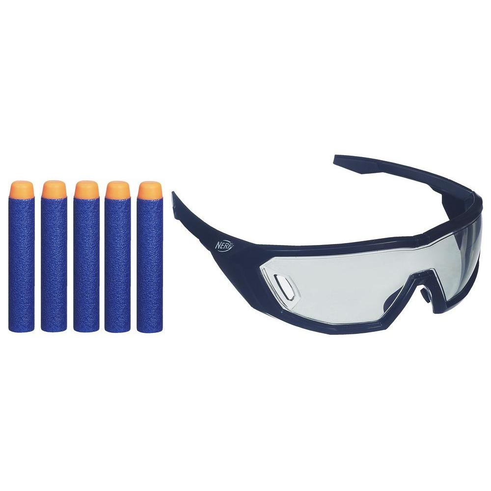 NERF N-Strike Elite Brille + 5 Darts