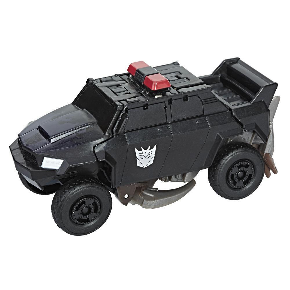 Transformers Movie 5 TURBO CHANGER GREEN GAMMA RAY