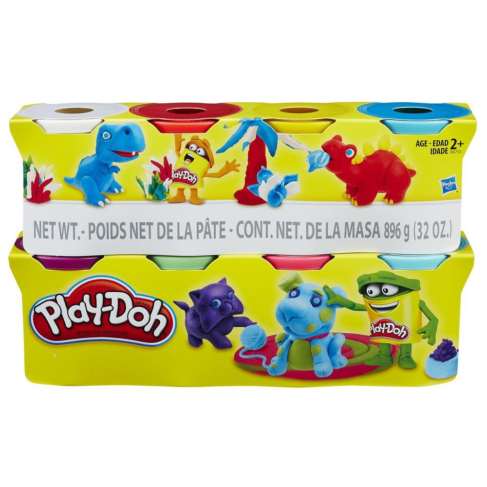 Play-Doh 4 Plus 4 Cans Value Pack