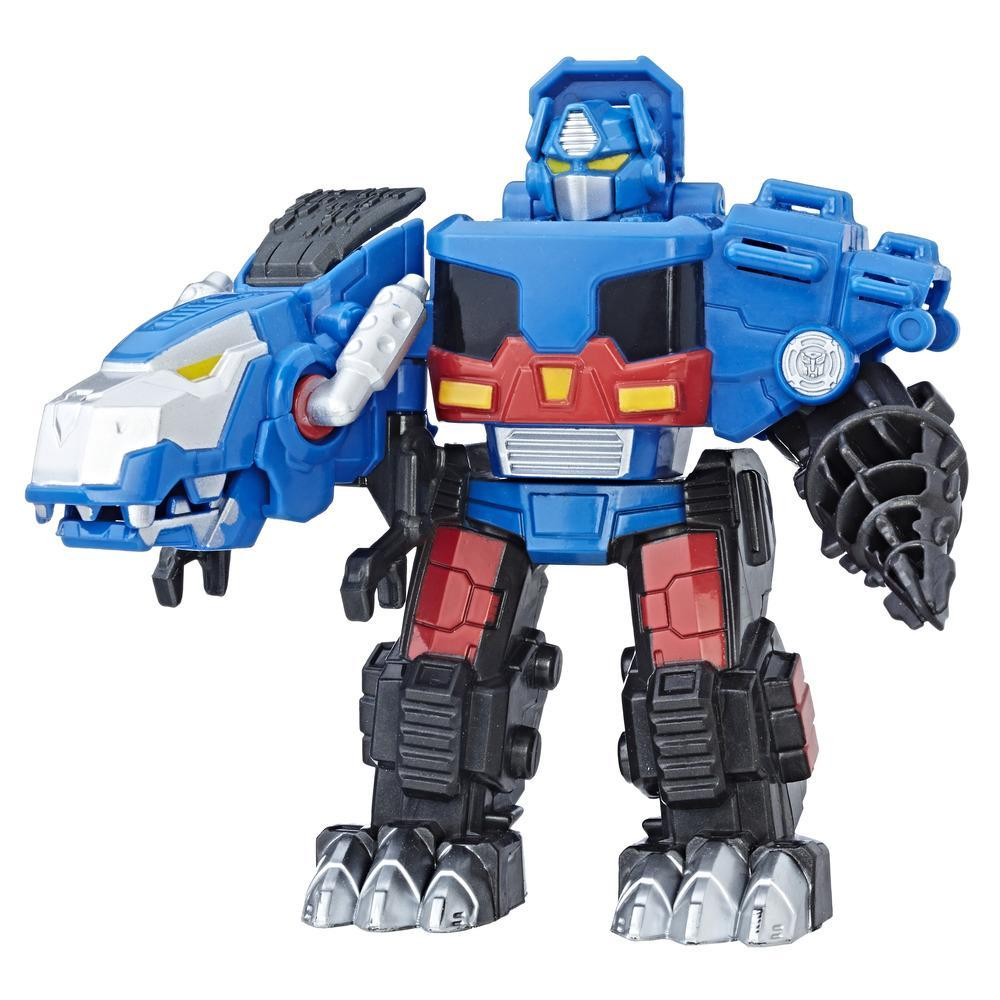 Transformers Rescue Bots OPTIMUS PRIME NIGHT T REX