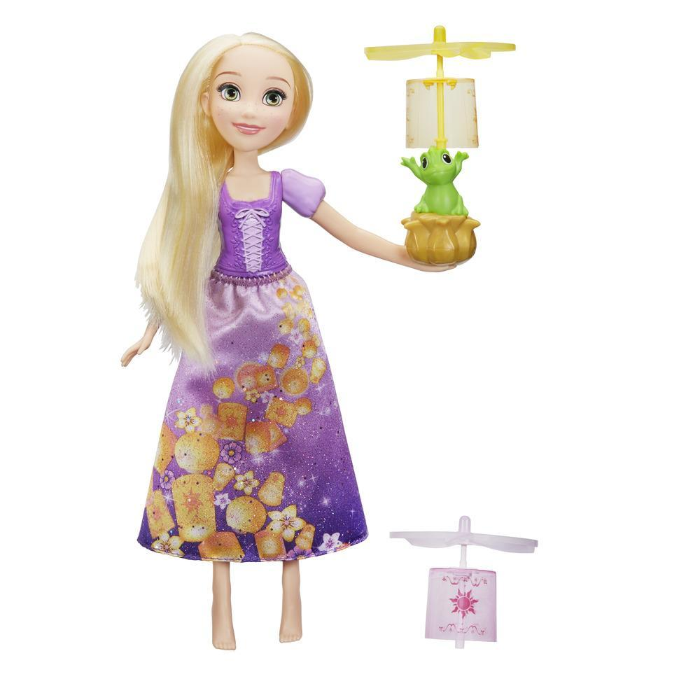 Disney Prinzessin Rapunzel mit Himmelslaternen
