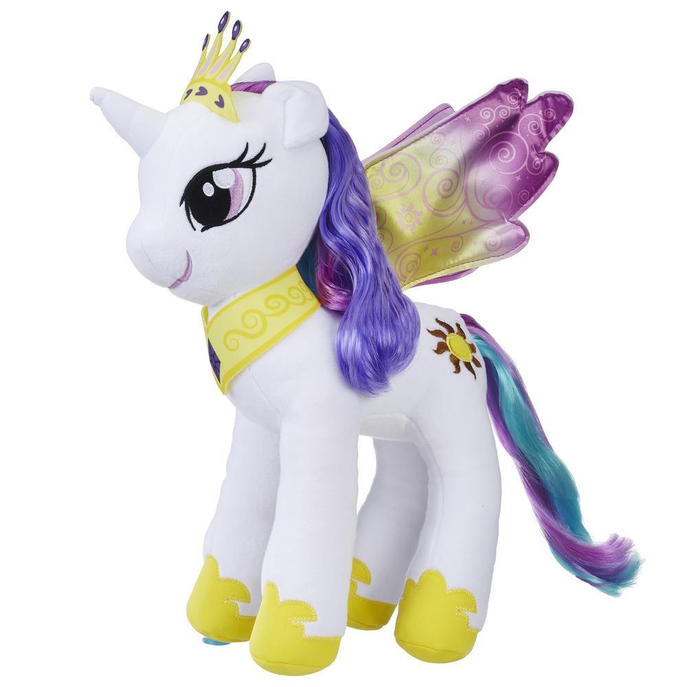 MLP LARGE HAIR PLUSH PRINCESS CELESTIA