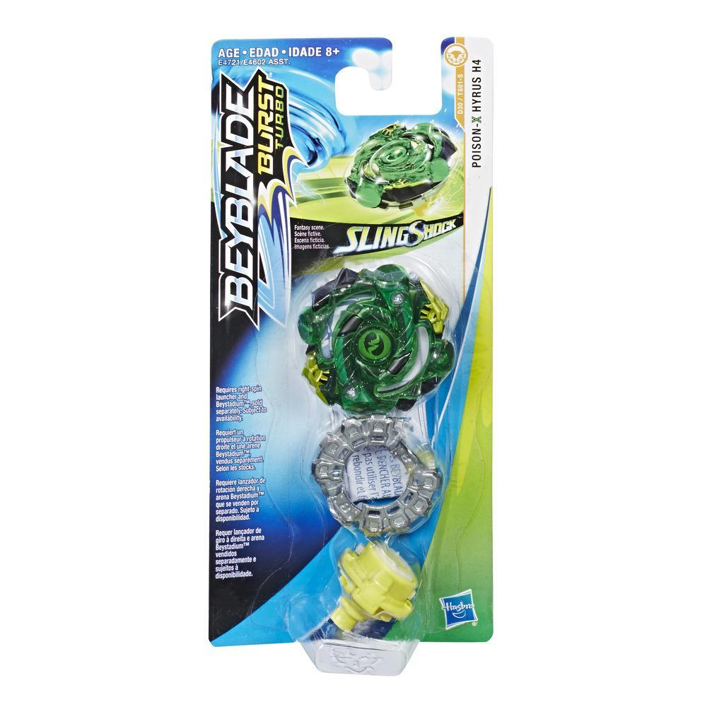 Beyblade Burst Turbo Slingshock Single Top Poison-X Hyrus H4
