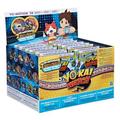 Yo-kai Watch Yo-Motion 2X Medal Mystery Bags Series 1