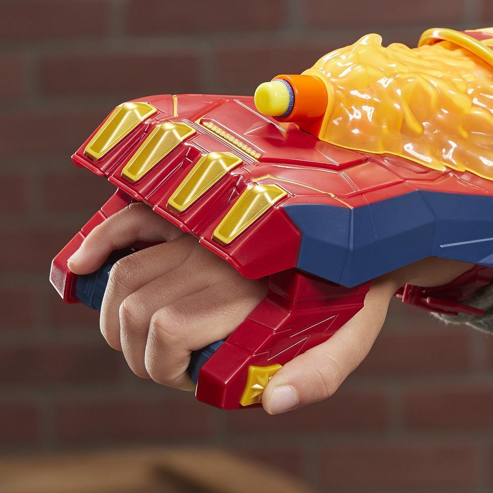 NERF Power Moves Captain Marvel Photonen-Blaster