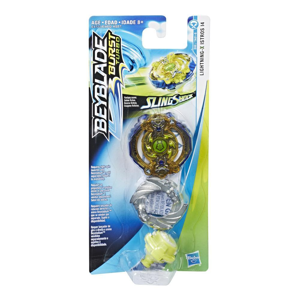 Beyblade Burst Turbo Slingshock Single Top Lightning-X Istros I4