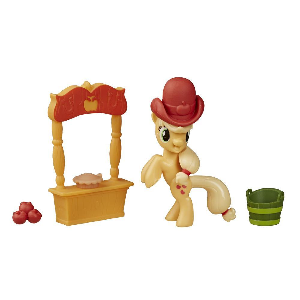 My Little Pony Friendship is Magic Story Set Applejack Loves to Pick Apples
