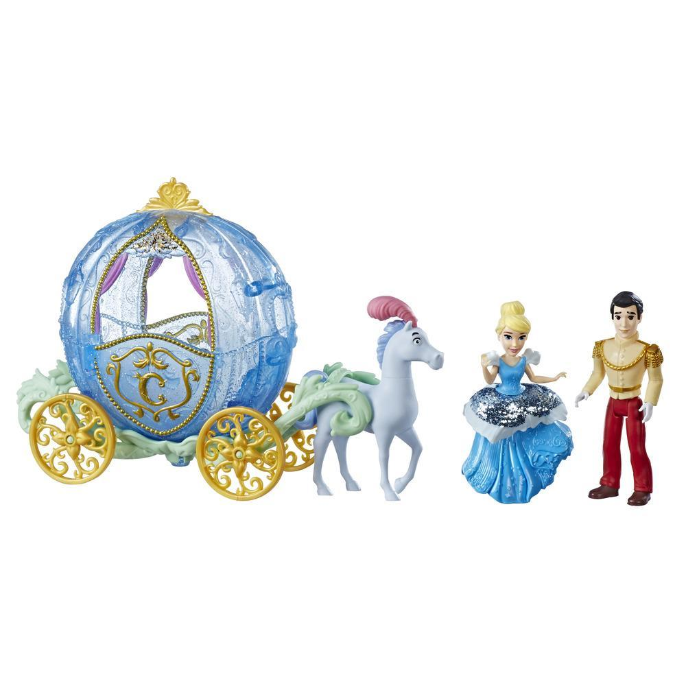 Disney Princess Royal Carriage Ride, Cinderella and Prince Charming Dolls