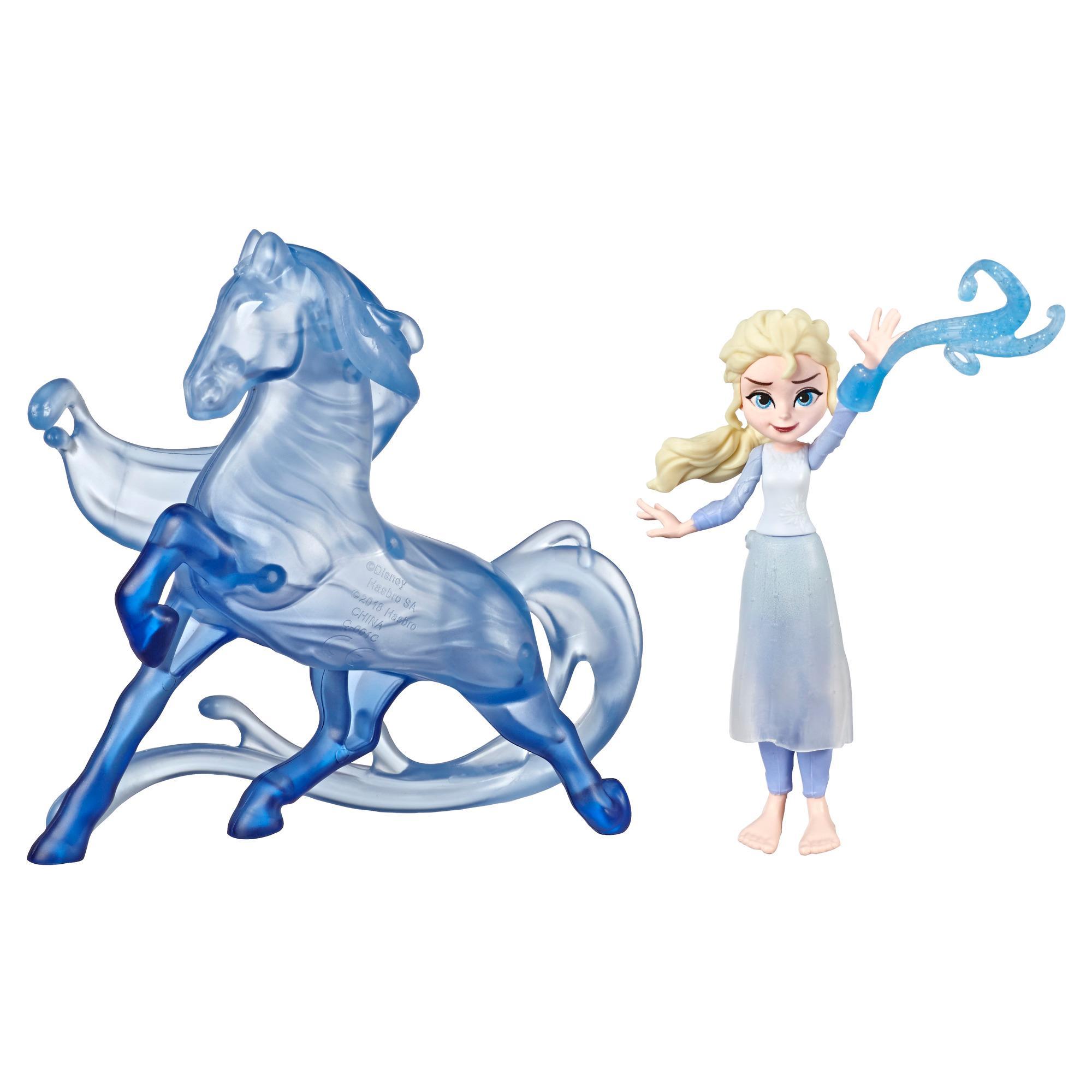 Disney Die Eiskönigin kleine Elsa Puppe und Nokk Figur, inspiriert durch Disneys Die Eiskönigin 2